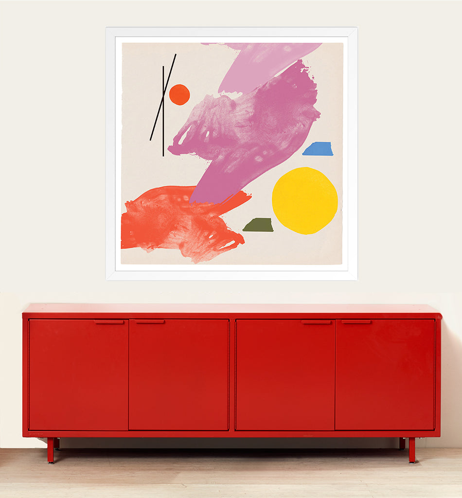 Heartwork Credenza Juliana Goodman Painting