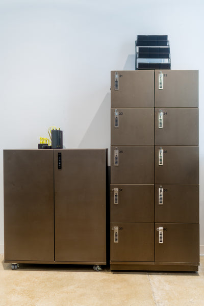 Storage Cabinet and Lockers