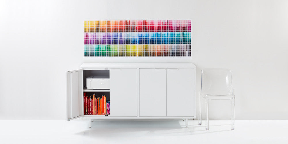 ... The Secure White Modern Office Credenza Comes With Steel Legs  Adjustable Shelves, Secure Lock Options ...