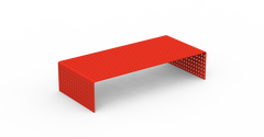 Perforated No. 1 Monitor Stand