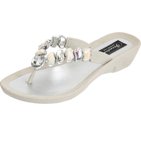 Grandco Sandals Wave - cream color