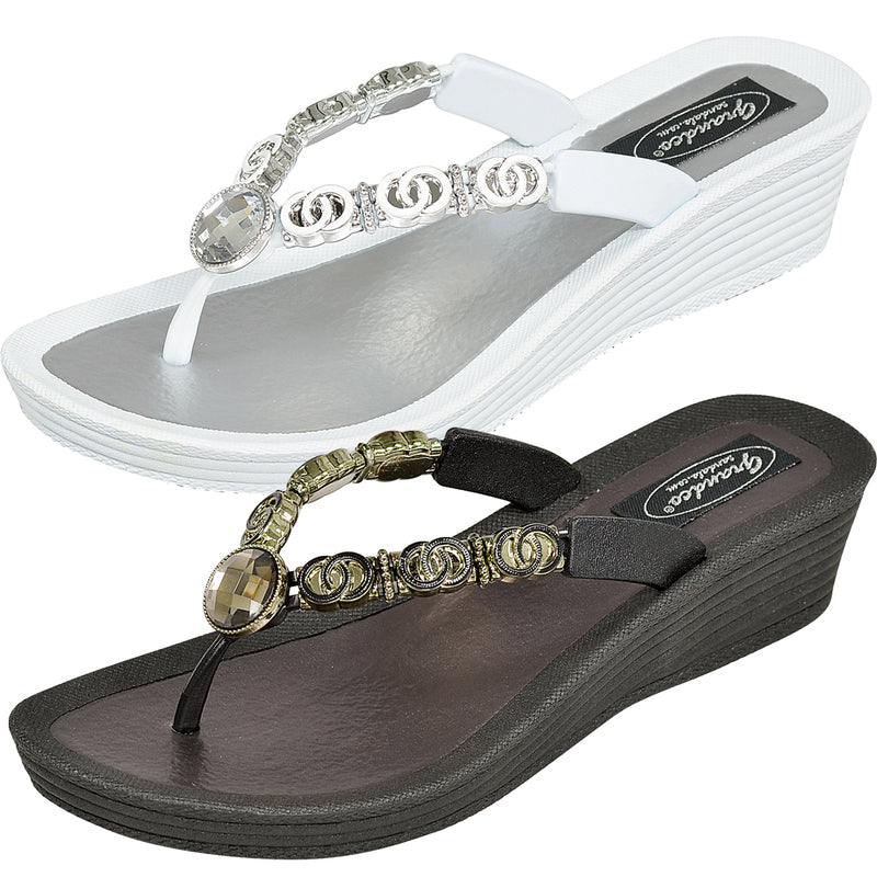 Grandco Sandals - Wedge Heels