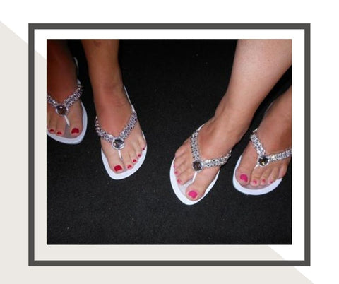 Grandco Sandals for a WEDDING