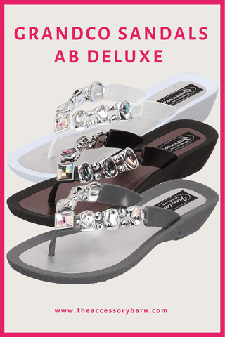 Grandco Sandals - Jeweled Sandals for Women