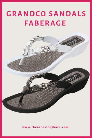 Grandco Sandals Comfy Sandals for Fashionable Ladies - Faberage