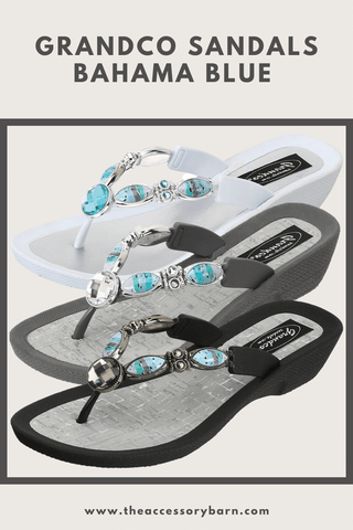 Grandco Sandals Bahama Blue