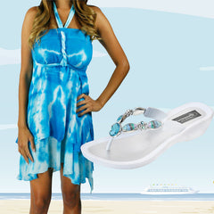 Grandco Sandals and Beach Dress