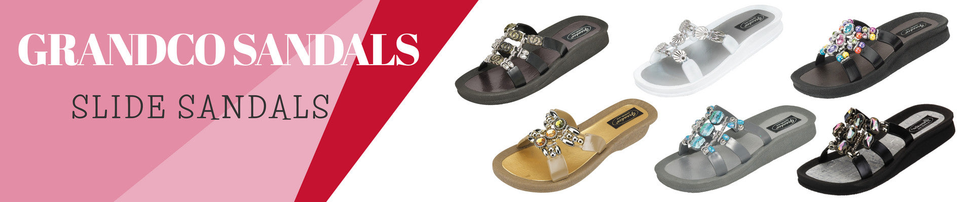 Slide Sandals by Grandco Sandals. Shop The Accessory Barn!