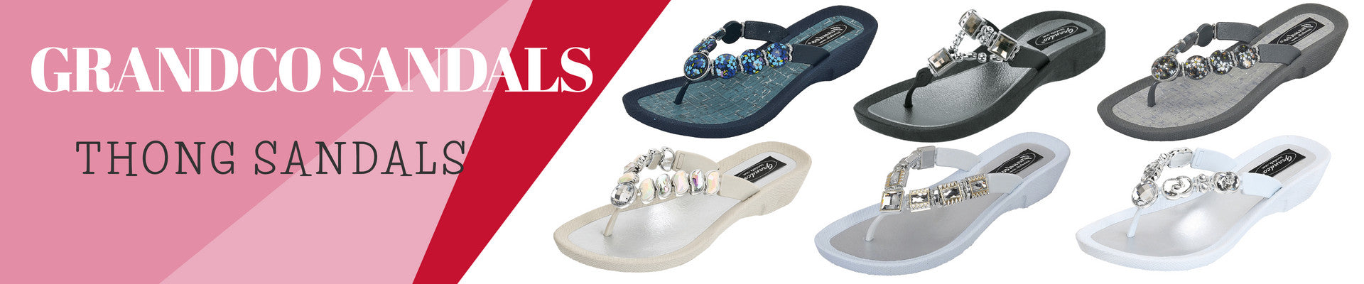 Grandco Sandals Thongs for Women. Shop The Accessory Barn!