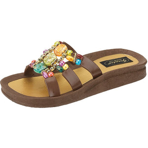 Grandco Sandals Mystical 25551E - Brown