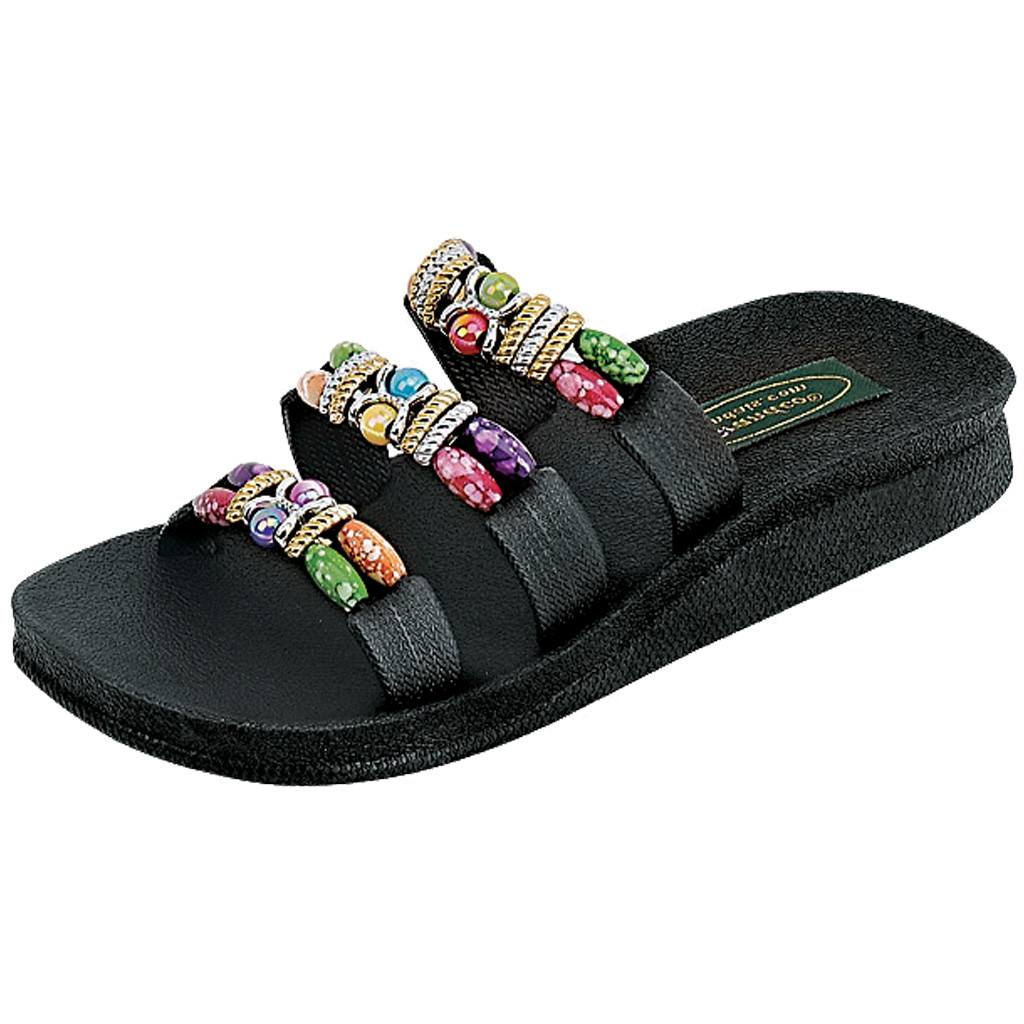 Grandco Sandals Classic 3 Band Slide 22589 - Black