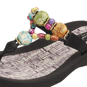 Grandco Sandals - Marble Cork 24770G Close Up