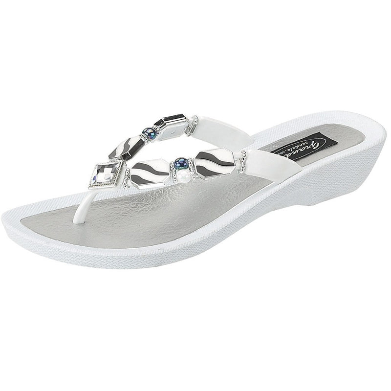 Grandco Sandals Downtown 25158R - White Sole
