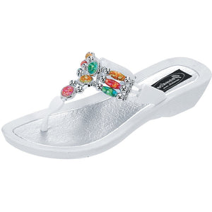 Grandco Sandals Aruba 25277G - White Sole