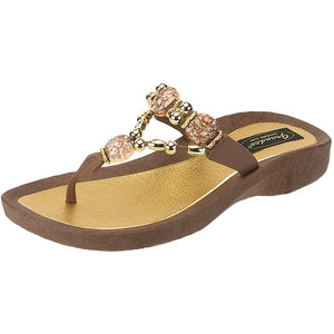 Grandco Sandals Expression 25542E - Brown Sole
