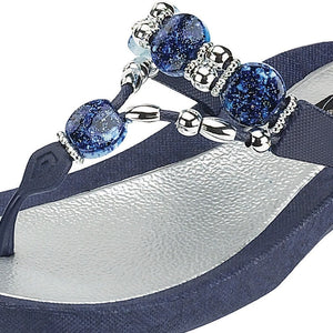 Grandco Sandals Expression 25542E - Close Up Blue