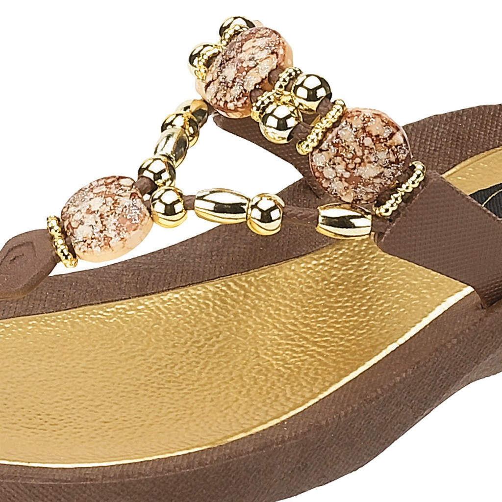 Grandco Sandals Expression 25542E - Close Up Brown