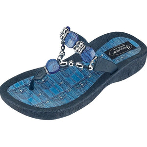 Grandco Sandals Denim 25574D - Blue Sole