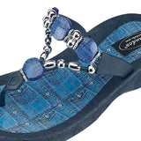 Grandco Sandals Denim 25574D - Close Up