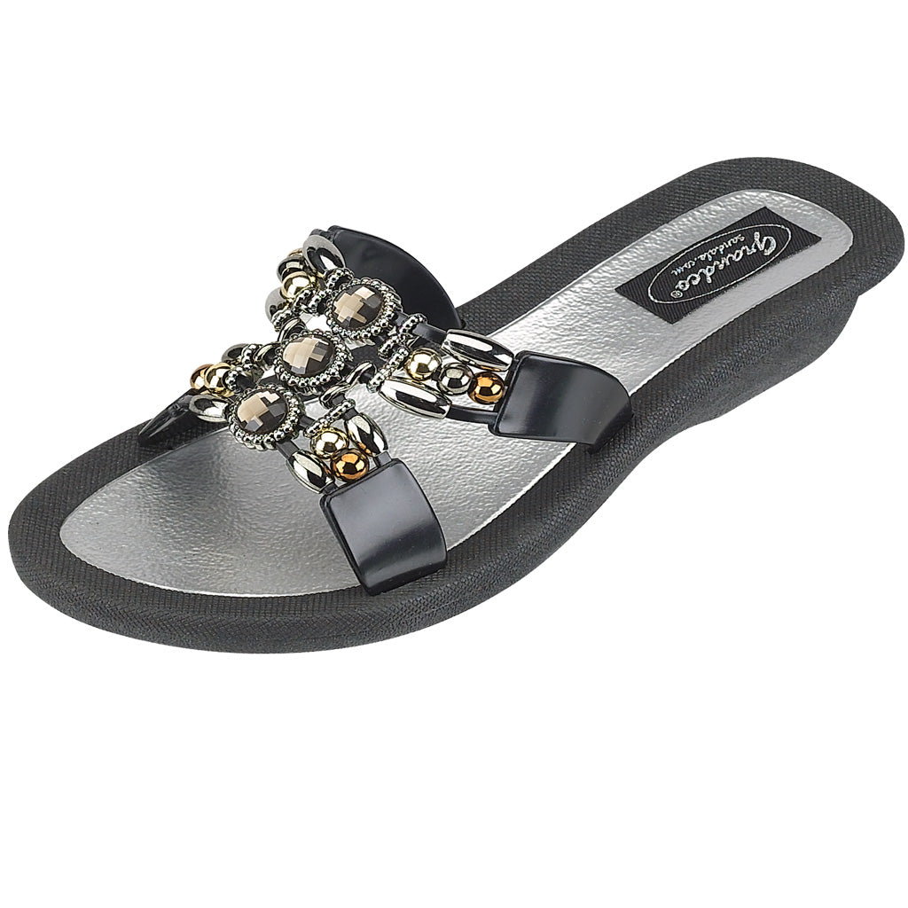 Grandco Sandals Lady Q 25764E - Black