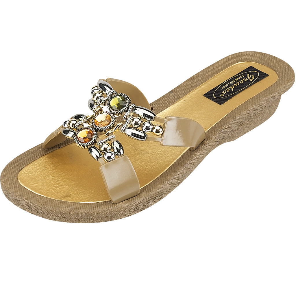 Grandco Sandals Lady Q 25764E - Taupe