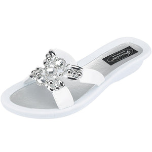Grandco Sandals Lady Q 25764E - White