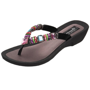 Grandco Sandals Rainbow 26245E - Black Sole