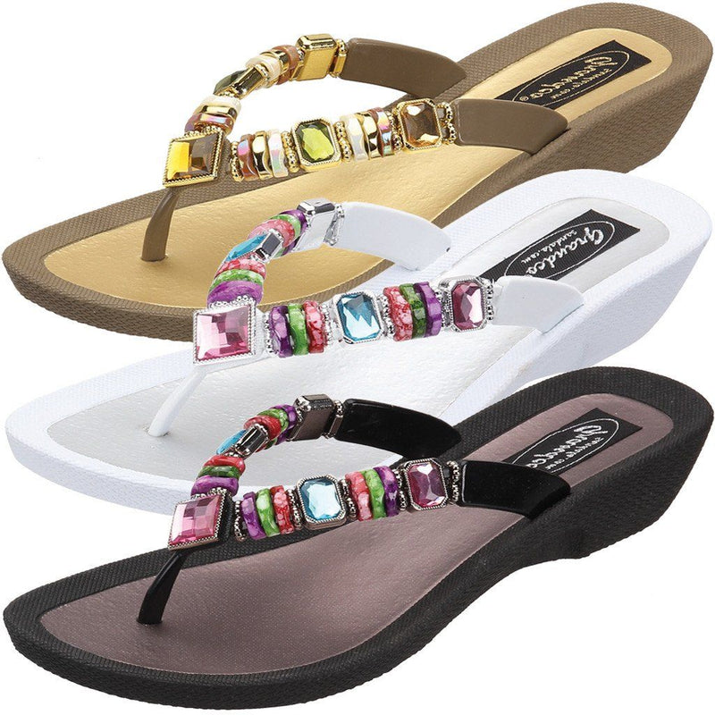 Grandco Sandals Rainbow 26245E at The Accessory Barn
