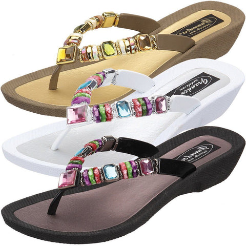 Grandco Sandals - Frosted Slide 27903
