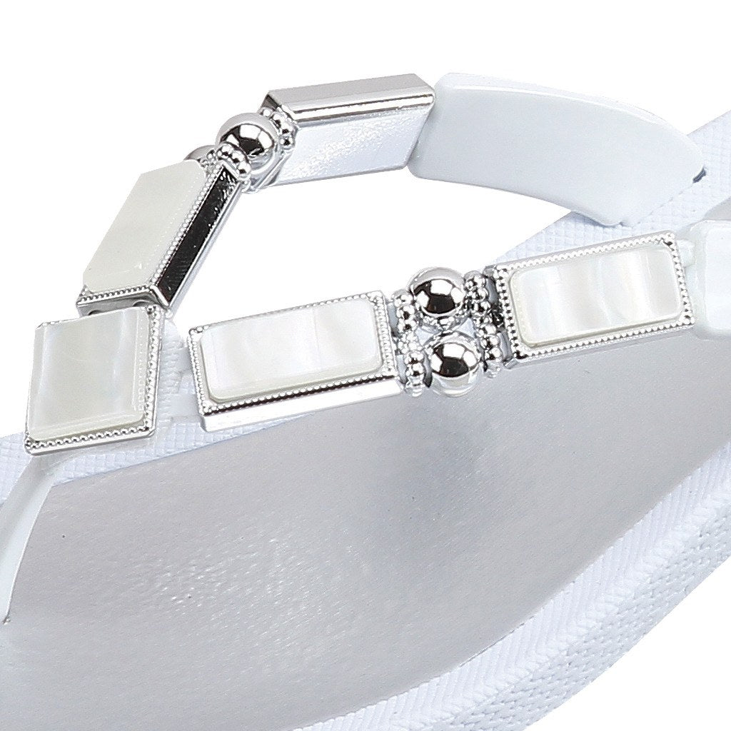 Grandco Sandals Shell V 26733E - Close Up White Sole
