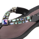 Grandco Sandals Lotus 26815E - Close Up Black
