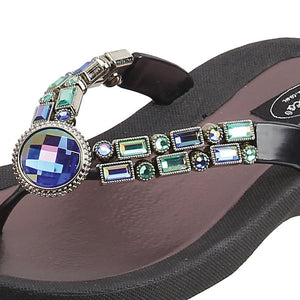 Grandco Sandals Amethyst 268123E - Close Up Black