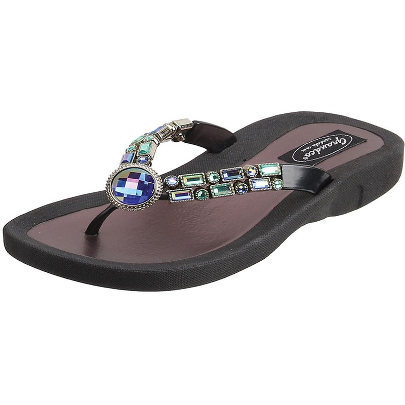 Grandco Sandals Amethyst 268123E - Black Sole