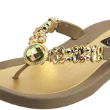 Grandco Sandals Dragonfly 26951E - Close Up Brown