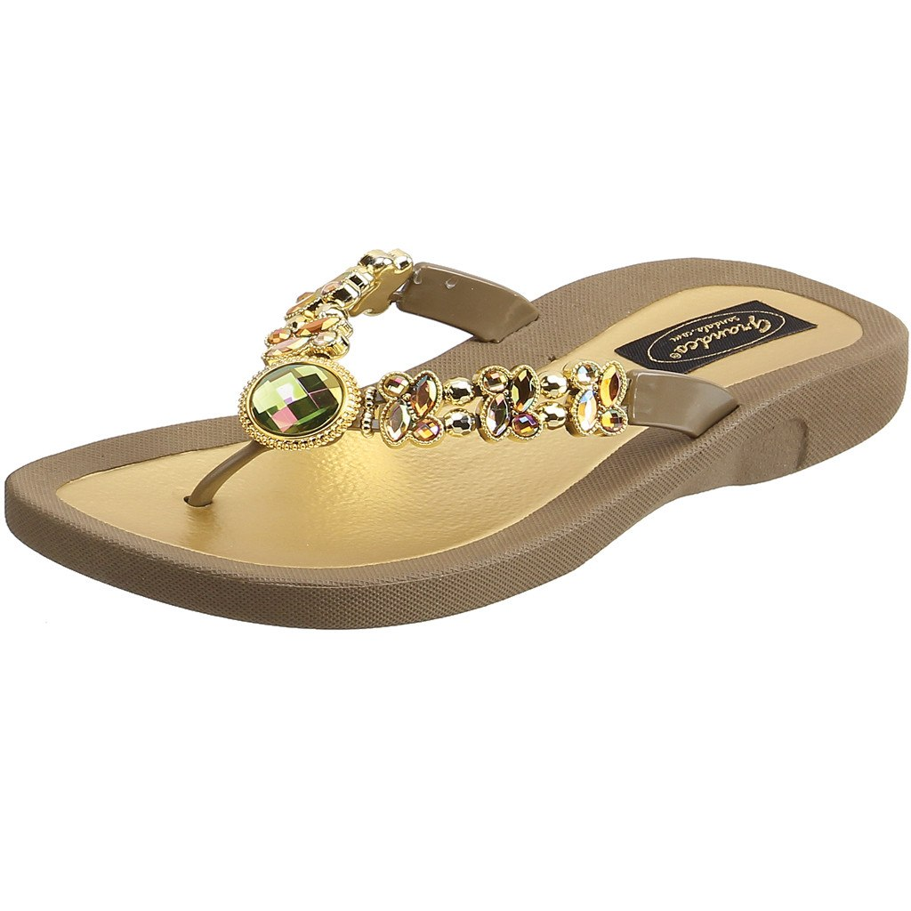 Grandco Sandals Dragonfly 26951E - Brown Sole
