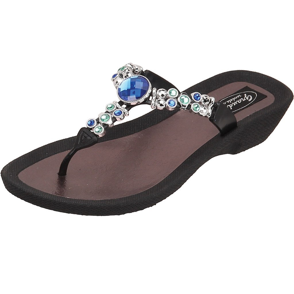 Grandco Sandals Precious 27127E - Black Sole