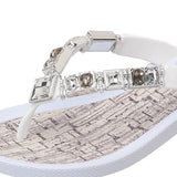 Grandco Sandals Flawless 27134C - Close up White