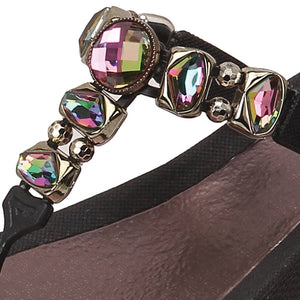 Grandco Sandals Sapphire 27173E - Black Close Up