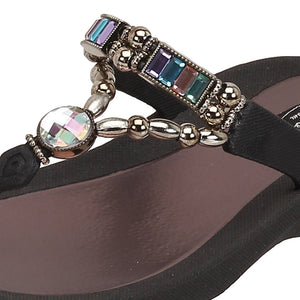 Grandco Sandals Paradise 27185E - Close Up Black