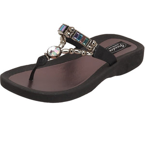 Grandco Sandals Paradise 27185E - Black Sole