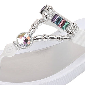 Grandco Sandals Paradise 27185E - Close up White