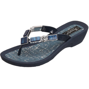 Grandco Sandals Colored Shell 26734C - Blue Sole