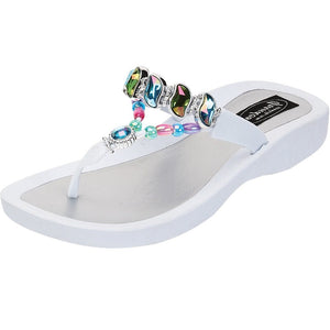 Grandco Sandals Colored Curve 27472  - White Sole