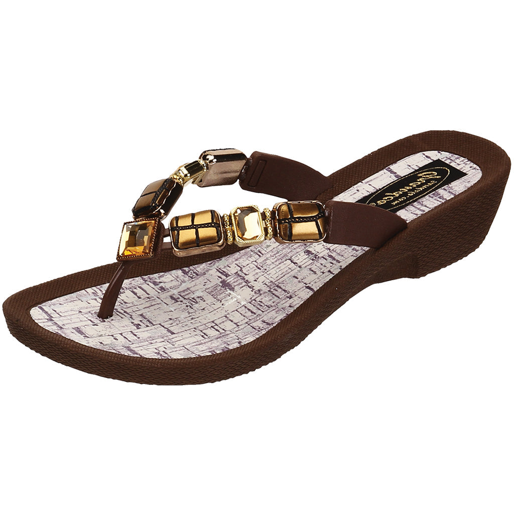 Grandco Sandals Cayman V 27457 - Brown Sole
