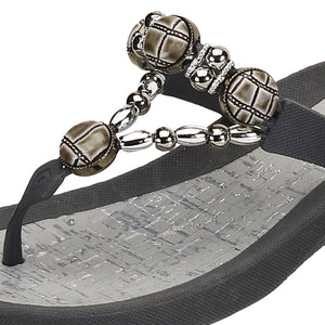 Grandco Sandals Cayman 27469 - Close up Grey
