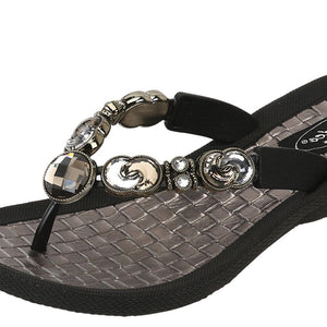 Grandco Sandals Eclipse - 27686P Black Close Up