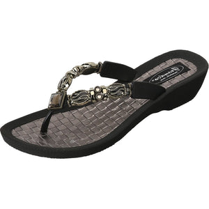 Grandco Sandals Faberge 27902 in Black