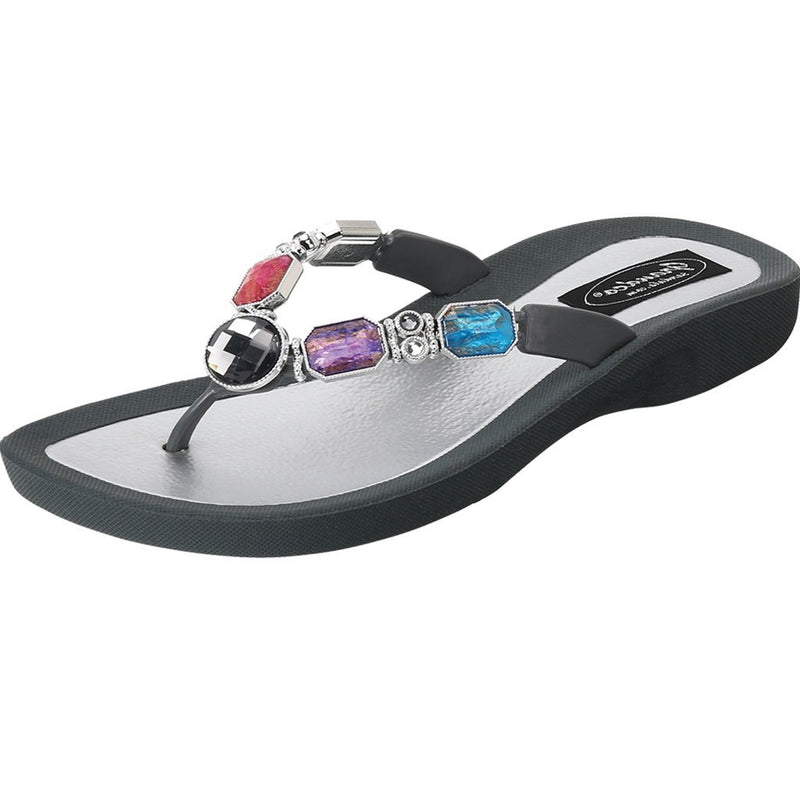 Grandco Sandals - Spirit 27927 in Gray