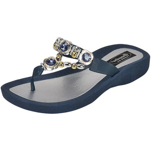 Grandco Sandals - Orion 28025 blue