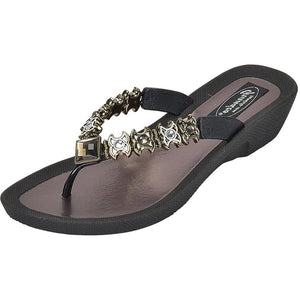 Grandco Sandals - Starz 28215 Black Sole